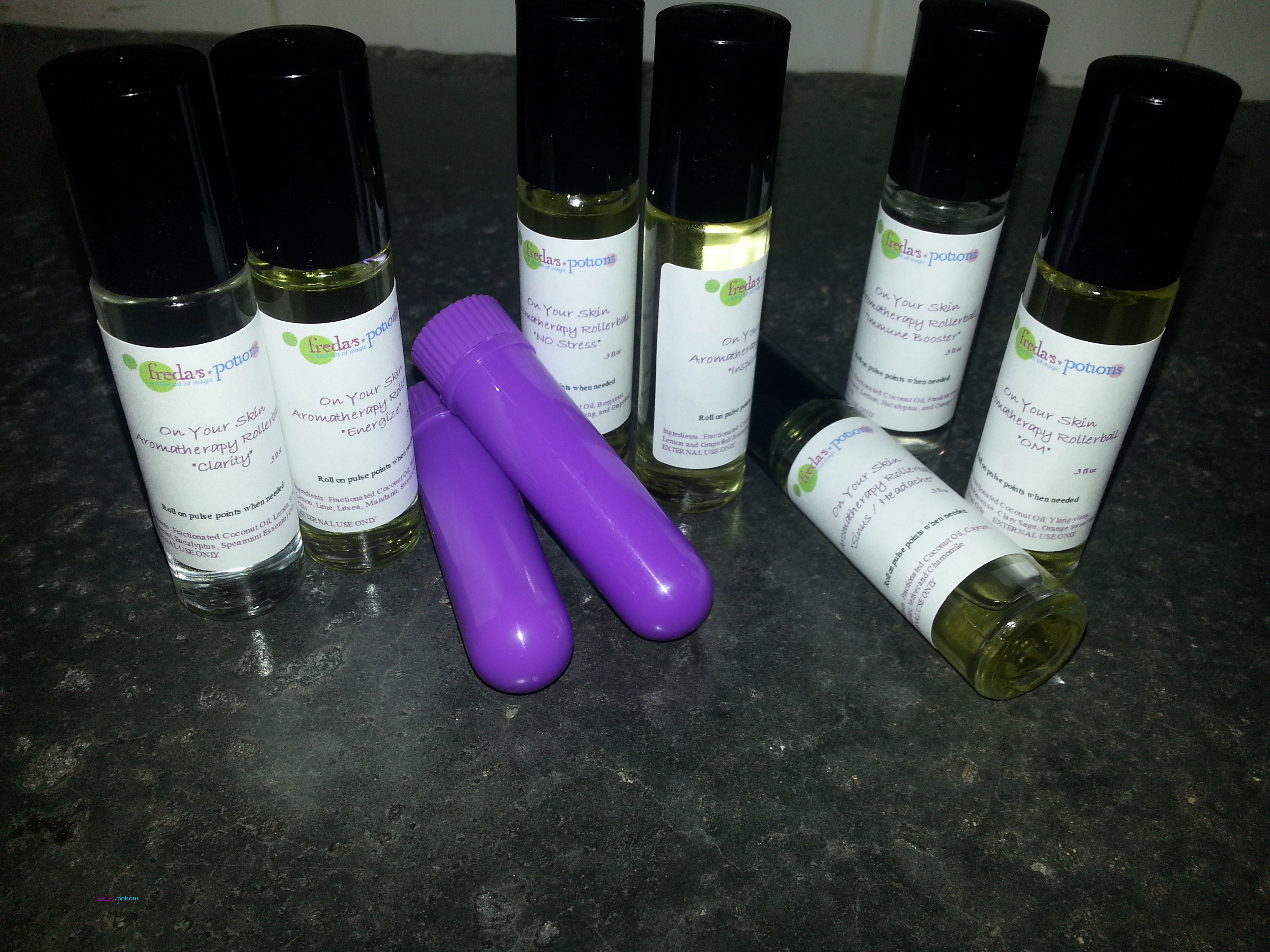 Aromatherapy Rollerball & Inhalers