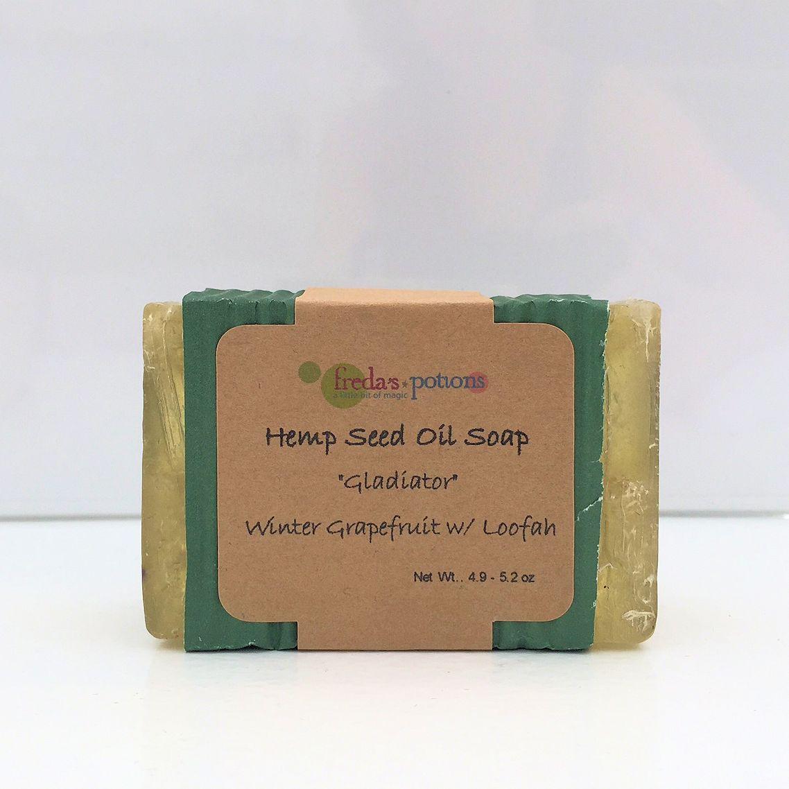 Gladiator Hemp Soap